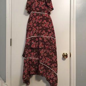 Nasty Gal Dresses - Nasty gal La Vie En Rose midi dress